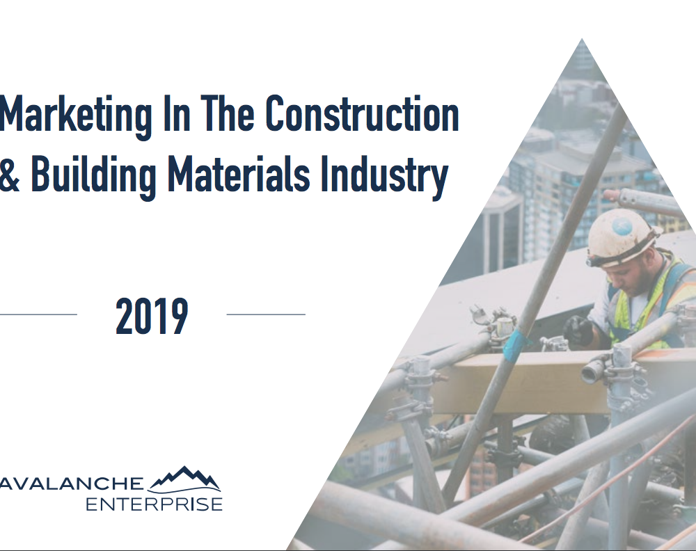 marketing in the construction and building industry